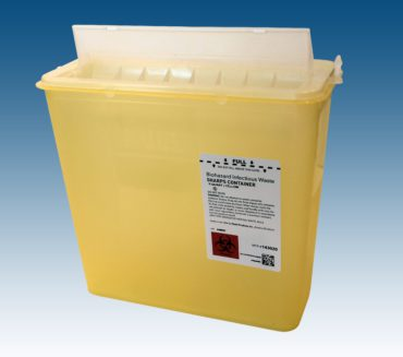 143020 5 Qt. Container Yellow, 20case