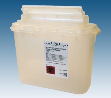 143254 5.4 qt. Container Clear, 20case